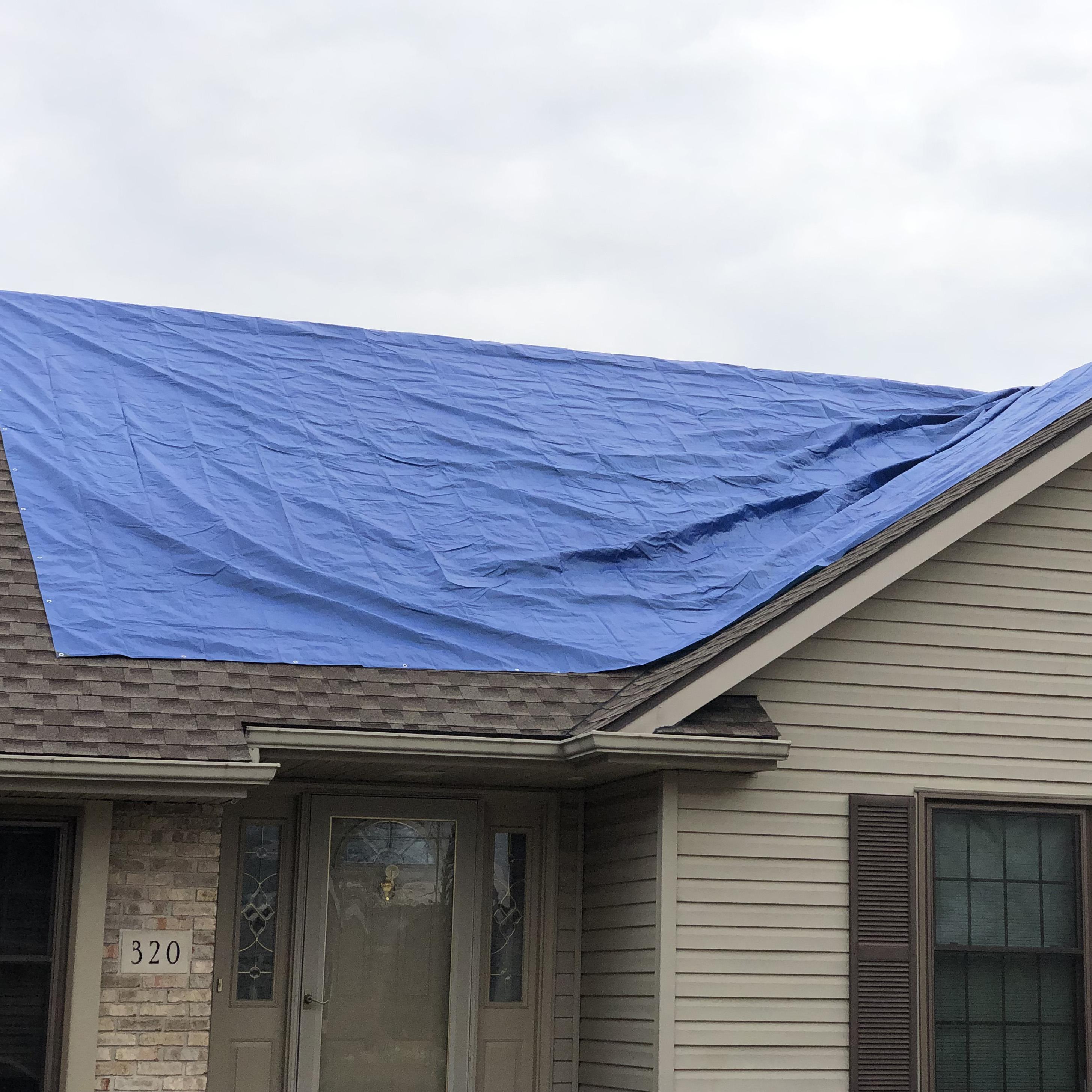 Blue Chip Construction and Roofing Lima Ohio Emergency Repair