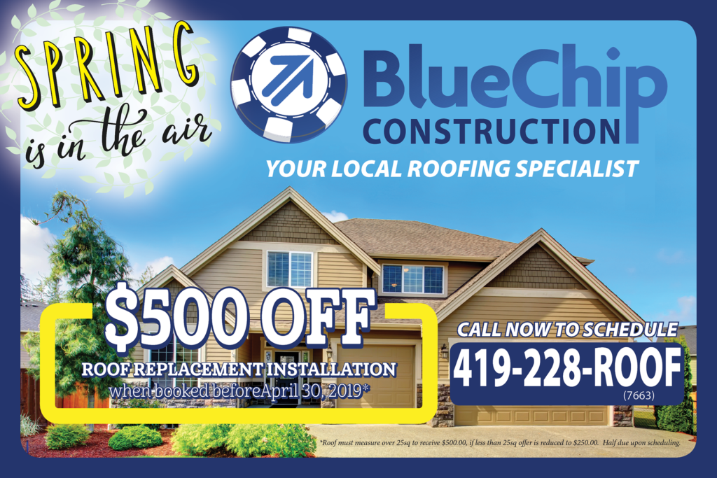 Blue Chip Construction Spring 2019 Promotion